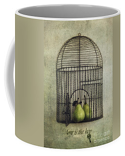 Love Is The Key With Typo Coffee Mug