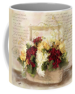 Love Letters Coffee Mug by Colleen Taylor