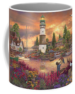 Love Lifted Me Coffee Mug