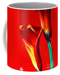 Love Lilies Coffee Mug by Jackie Carpenter