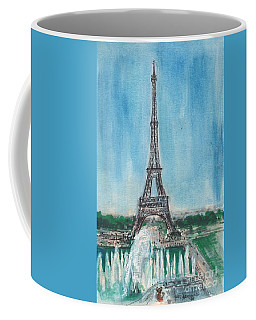 Love Of The Eiffel Coffee Mug