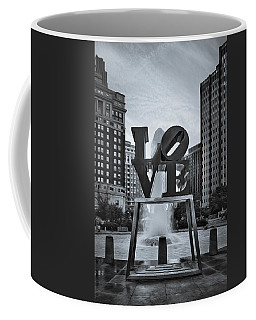 Love Park Bw Coffee Mug