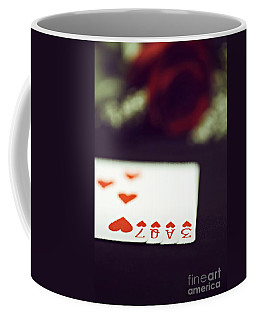 Coffee Mug featuring the photograph Love Trick by Trish Mistric