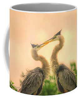 Coffee Mug featuring the photograph Lovebirds  by Dennis Baswell