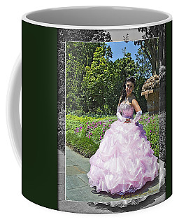 Lovely Lady At The Dallas Arboretum Coffee Mug