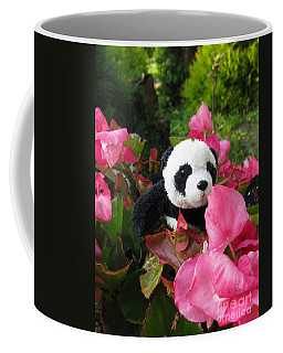 Lovely Pink Flower Coffee Mug by Ausra Huntington nee Paulauskaite