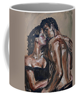 Lovers Coffee Mug by Donna Tuten