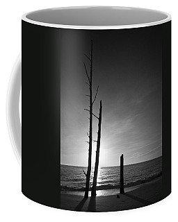 Lovers Key Sunset Black And White One Coffee Mug