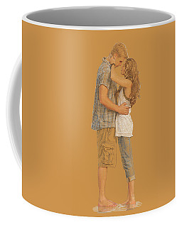 Lovers On The Beach Coffee Mug
