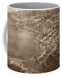 Aerial Of Lovers Point And Pacific Grove California July 10 1906 Coffee Mug