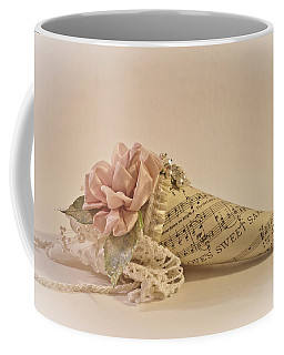Coffee Mug featuring the photograph Love's Sweet Sake - Posy by Sandra Foster