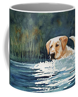 Loves The Water Coffee Mug by Marilyn Jacobson