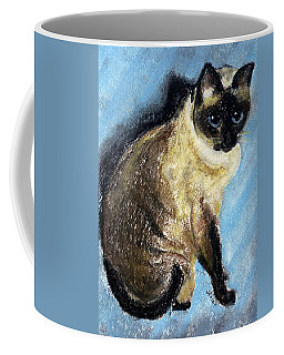 Lovey Coffee Mug by Jamie Frier
