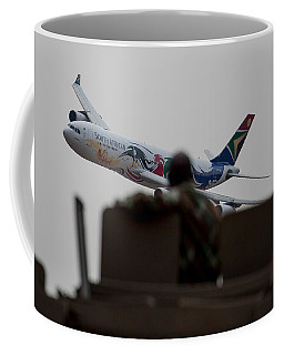 Low Airbus Coffee Mug by Paul Job