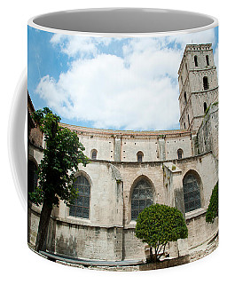 Low Angle View Of A Bell Tower, Church Coffee Mug
