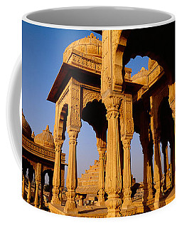 Low Angle View Of Monuments At A Place Coffee Mug