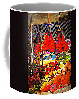 Low-hanging Fruit Coffee Mug by Miriam Danar