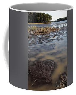 Low Tide At Blackwater Wildlife Refuge In Maryland Coffee Mug