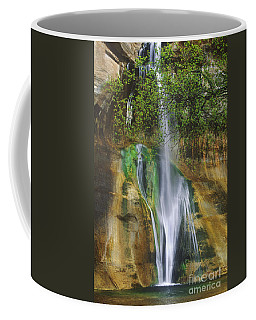 Coffee Mug featuring the photograph Lower Calf Creek Falls Escalante Grand Staircase National Monument Utah by Dave Welling
