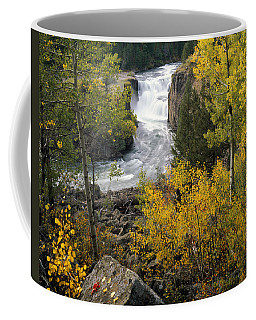 Coffee Mug featuring the photograph Lower Mesa Autumn by Leland D Howard