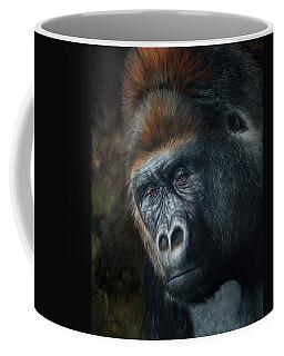 Lowland Gorilla Painting Coffee Mug