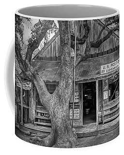 Luckenbach 2 Black And White Coffee Mug