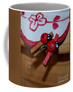 Lucky Couple Coffee Mug by Marija Djedovic