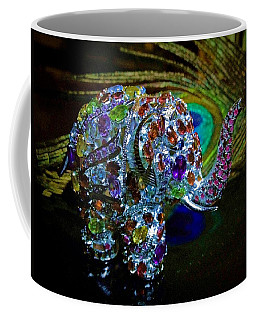 Lucky Jeweled Elephant Coffee Mug