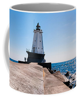 Ludington Lighthouse Coffee Mug