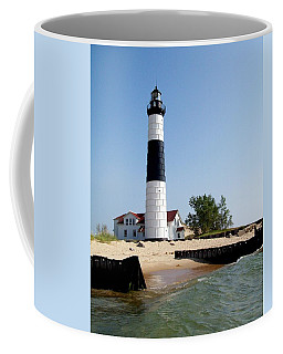 Ludington Michigan's Big Sable Lighthouse Coffee Mug