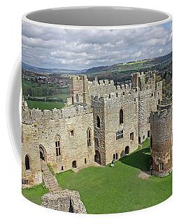Ludlow Castle Chapel And Great Hall Coffee Mug