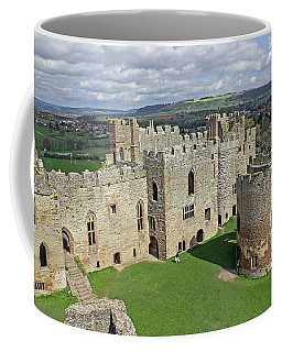 Ludlow Castle Chapel And Great Hall Coffee Mug