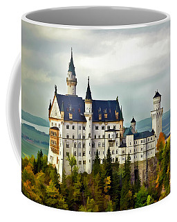 Neuschwanstein Castle In Bavaria Germany Coffee Mug