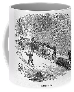 Lumbering - 1878 Coffee Mug