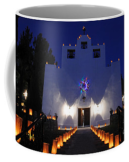 Luminarias At St Francis De Paula Coffee Mug
