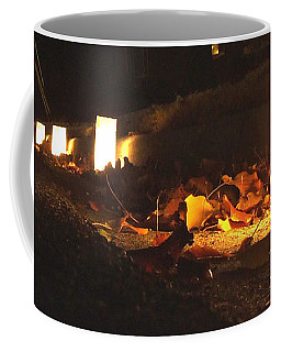 Coffee Mug featuring the photograph Luminaries by Andrea Anderegg