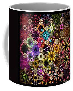 Luminiscent Kaleidoctogarden Coffee Mug