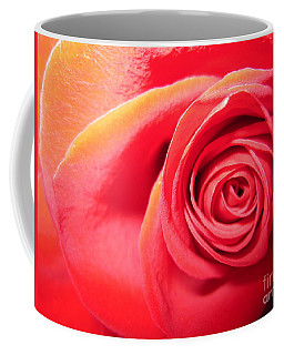 Luminous Red Rose 1 Coffee Mug