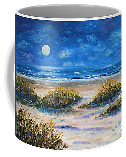 Lunar Beach Coffee Mug