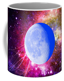 Coffee Mug featuring the photograph Lunar Magic by Leanne Seymour