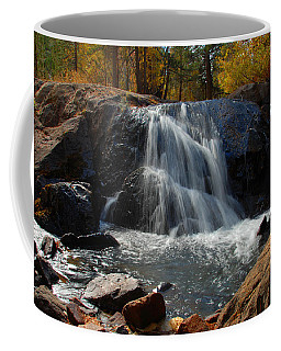 Lundy Creek Cascades Coffee Mug by Lynn Bauer