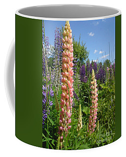 Coffee Mug featuring the photograph Lupin Summer by Martin Howard