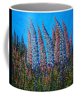 Lupins - Study No. 1 Coffee Mug