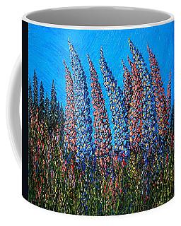 Lupins - Study No. 1 Coffee Mug
