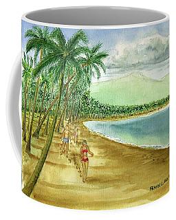Luquillo Beach And El Yunque Puerto Rico Coffee Mug by Frank Hunter