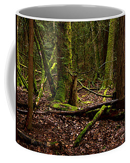 Lush Green Forest Coffee Mug