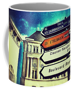 Coffee Mug featuring the photograph Luxembourg City by Nick  Biemans
