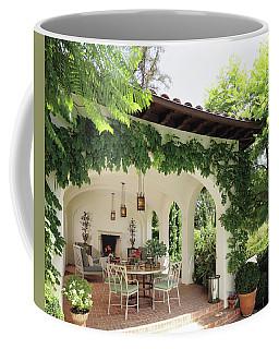 Luxury Villa Near Green Garden Coffee Mug