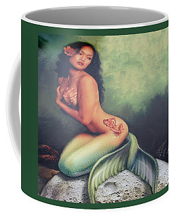 Lydia The Tattooed Mermaid Coffee Mug