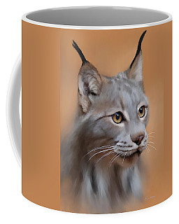 Lynx Portrait Coffee Mug